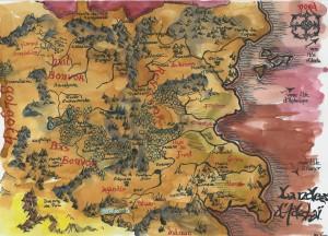 Carte Les Landes d'Adélaï