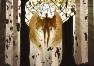 L'ange de lumière, tiré de la licence Spirit Slayer