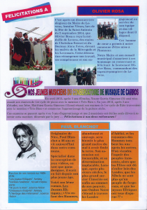 Article Journal de la Mairie